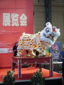 Leon chino danza leon